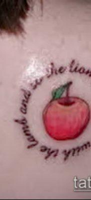 фото тату яблоко (apple tattoo) (значение) – пример рисунка – 091 tatufoto.com