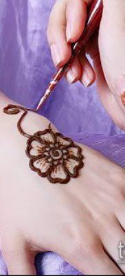 Фото Как наносить мехенди на тело(tattoo) (значение) – пример рисунка – 009 tatufoto.com