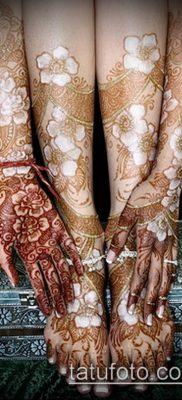 Фото Как наносить мехенди на тело(tattoo) (значение) – пример рисунка – 011 tatufoto.com