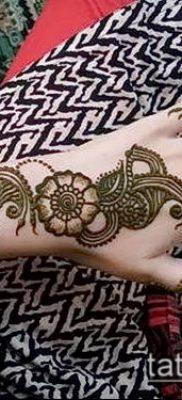 Фото Как наносить мехенди на тело(tattoo) (значение) – пример рисунка – 013 tatufoto.com