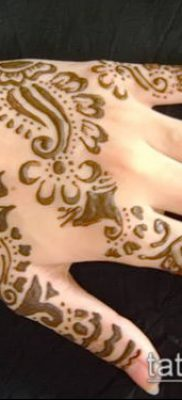 Фото Как наносить мехенди на тело(tattoo) (значение) – пример рисунка – 027 tatufoto.com