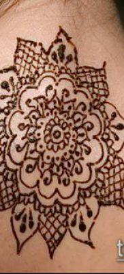 Фото Как наносить мехенди на тело(tattoo) (значение) – пример рисунка – 034 tatufoto.com
