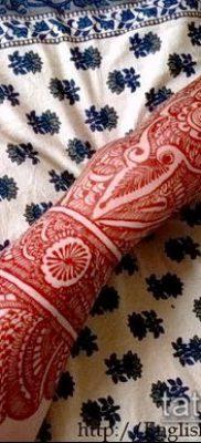 Фото Как наносить мехенди на тело(tattoo) (значение) – пример рисунка – 045 tatufoto.com