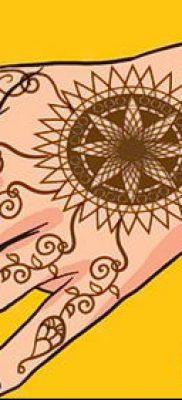 Фото Как наносить мехенди на тело(tattoo) (значение) – пример рисунка – 054 tatufoto.com