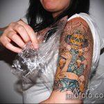 Фото Как ухаживать за тату (Tattoo) (значение) - пример рисунка - 001 tatufoto.com