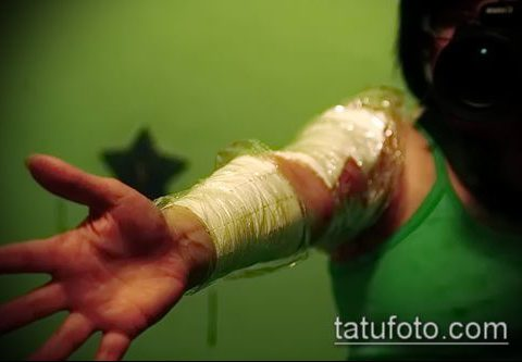 Фото Как ухаживать за тату (Tattoo) (значение) - пример рисунка - 008 tatufoto.com