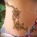 Фото Мехенди на бедре (Tattoo) (значение) - пример рисунка - 014 tatufoto.com