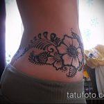 Фото Мехенди на бедре (Tattoo) (значение) - пример рисунка - 017 tatufoto.com