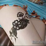 Фото Мехенди на бедре (Tattoo) (значение) - пример рисунка - 019 tatufoto.com