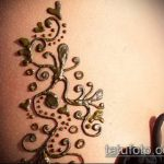Фото Мехенди на бедре (Tattoo) (значение) - пример рисунка - 027 tatufoto.com