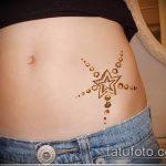 Фото Мехенди на бедре (Tattoo) (значение) - пример рисунка - 033 tatufoto.com