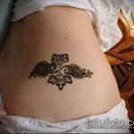 Фото Мехенди на бедре (Tattoo) (значение) - пример рисунка - 038 tatufoto.com