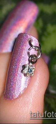 Фото Пирсинг ногтей (Nail Piercing) (значение) – пример рисунка – 006 tatufoto.com