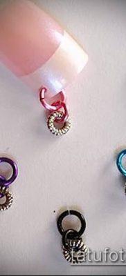 Фото Пирсинг ногтей (Nail Piercing) (значение) – пример рисунка – 014 tatufoto.com
