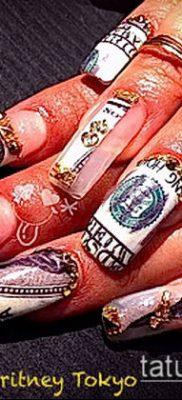 Фото Пирсинг ногтей (Nail Piercing) (значение) – пример рисунка – 021 tatufoto.com