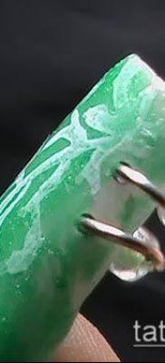 Фото Пирсинг ногтей (Nail Piercing) (значение) – пример рисунка – 026 tatufoto.com