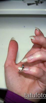 Фото Пирсинг ногтей (Nail Piercing) (значение) – пример рисунка – 044 tatufoto.com
