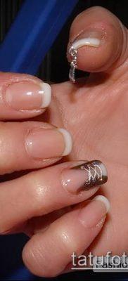 Фото Пирсинг ногтей (Nail Piercing) (значение) – пример рисунка – 048 tatufoto.com