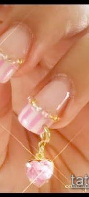 Фото Пирсинг ногтей (Nail Piercing) (значение) – пример рисунка – 066 tatufoto.com