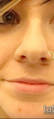 Фото Пирсинг носа (Tattoo Nose Piercing) (значение) – пример рисунка – 002 tatufoto.com