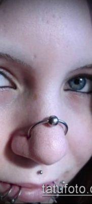 Фото Пирсинг носа (Tattoo Nose Piercing) (значение) – пример рисунка – 008 tatufoto.com