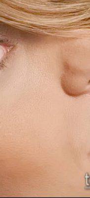Фото Пирсинг носа (Tattoo Nose Piercing) (значение) – пример рисунка – 009 tatufoto.com