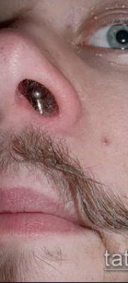 Фото Пирсинг носа (Tattoo Nose Piercing) (значение) – пример рисунка – 010 tatufoto.com