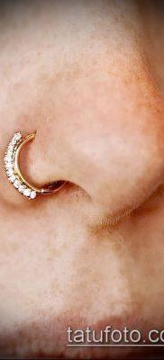 Фото Пирсинг носа (Tattoo Nose Piercing) (значение) – пример рисунка – 020 tatufoto.com