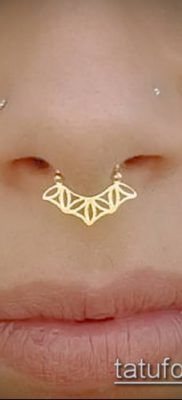 Фото Пирсинг носа (Tattoo Nose Piercing) (значение) – пример рисунка – 022 tatufoto.com