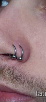 Фото Пирсинг носа (Tattoo Nose Piercing) (значение) – пример рисунка – 025 tatufoto.com