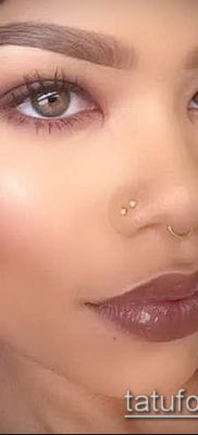 Фото Пирсинг носа (Tattoo Nose Piercing) (значение) – пример рисунка – 026 tatufoto.com