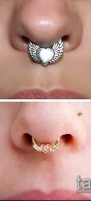 Фото Пирсинг носа (Tattoo Nose Piercing) (значение) – пример рисунка – 032 tatufoto.com