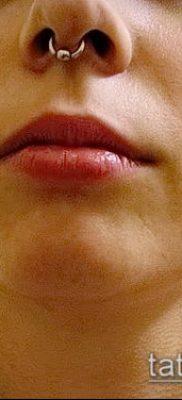 Фото Пирсинг носа (Tattoo Nose Piercing) (значение) – пример рисунка – 034 tatufoto.com