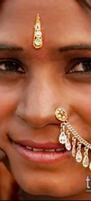 Фото Пирсинг носа (Tattoo Nose Piercing) (значение) – пример рисунка – 042 tatufoto.com