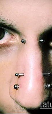 Фото Пирсинг носа (Tattoo Nose Piercing) (значение) – пример рисунка – 053 tatufoto.com