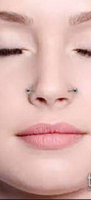 Фото Пирсинг носа (Tattoo Nose Piercing) (значение) – пример рисунка – 059 tatufoto.com
