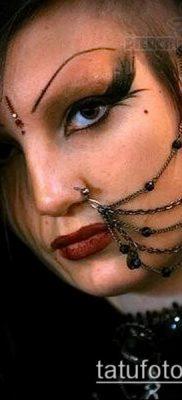 Фото Пирсинг носа (Tattoo Nose Piercing) (значение) – пример рисунка – 067 tatufoto.com