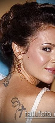 Фото Тату Алиссы Милано (Tattoo Alyssa) (значение) – пример рисунка – 002 tatufoto.com