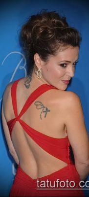 Фото Тату Алиссы Милано (Tattoo Alyssa) (значение) – пример рисунка – 019 tatufoto.com