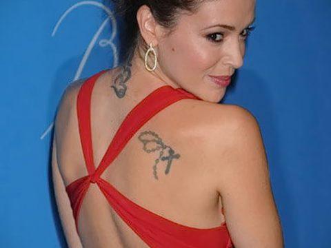 Фото Тату Алиссы Милано (Tattoo Alyssa) (значение) - пример рисунка - 019 tatufoto.com