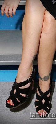 Фото Тату Алиссы Милано (Tattoo Alyssa) (значение) – пример рисунка – 027 tatufoto.com