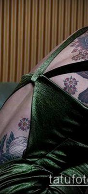 Фото Тату Лины Хиди (Tattoo of Lina Hidey) (значение) – пример рисунка – 007 tatufoto.com