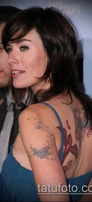 Фото Тату Лины Хиди (Tattoo of Lina Hidey) (значение) – пример рисунка – 017 tatufoto.com