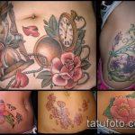 Фото Тату скрывающие растяжки (tattoo) (значение) - пример рисунка - 003 tatufoto.com