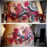 Фото Тату скрывающие растяжки (tattoo) (значение) - пример рисунка - 008 tatufoto.com