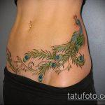 Фото Тату скрывающие растяжки (tattoo) (значение) - пример рисунка - 010 tatufoto.com
