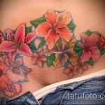 Фото Тату скрывающие растяжки (tattoo) (значение) - пример рисунка - 011 tatufoto.com