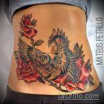 Фото Тату скрывающие растяжки (tattoo) (значение) - пример рисунка - 013 tatufoto.com