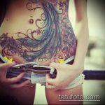 Фото Тату скрывающие растяжки (tattoo) (значение) - пример рисунка - 016 tatufoto.com