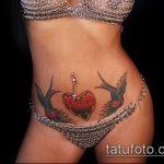Фото Тату скрывающие растяжки (tattoo) (значение) - пример рисунка - 025 tatufoto.com